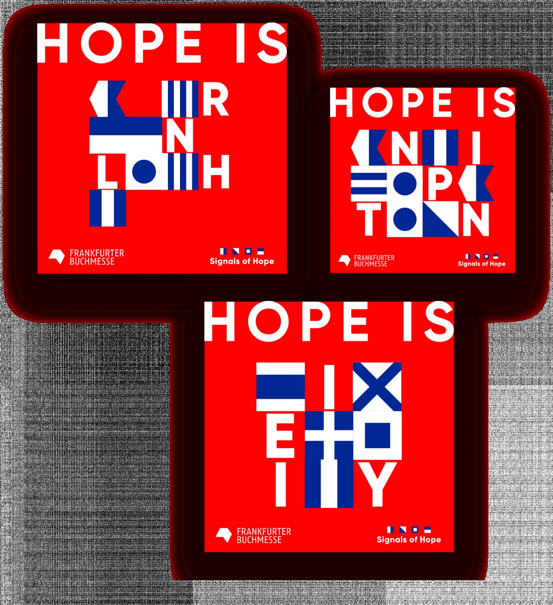 Signals of Hope, Signale auf sozialen Medien
