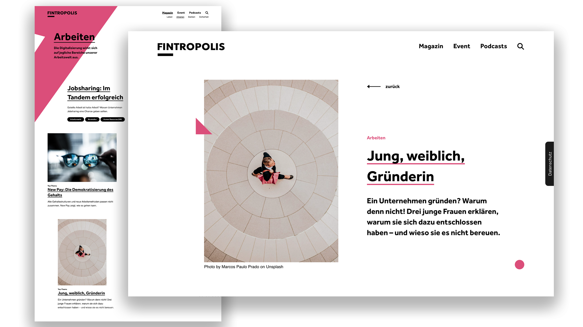 FINTROPOLIS :: Magazin :: Arbeiten